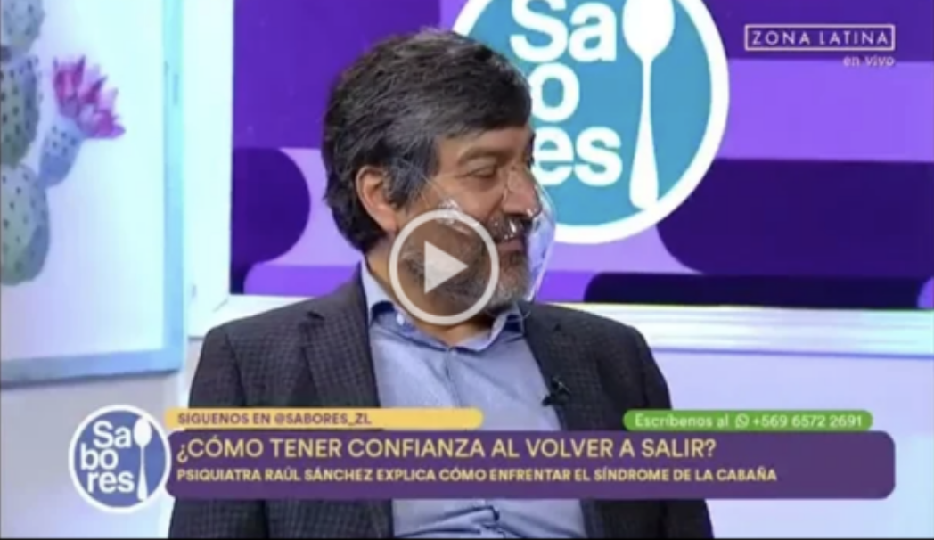 Dr. Raúl Sánchez en Zona Latina.  Confianza y Pandemia